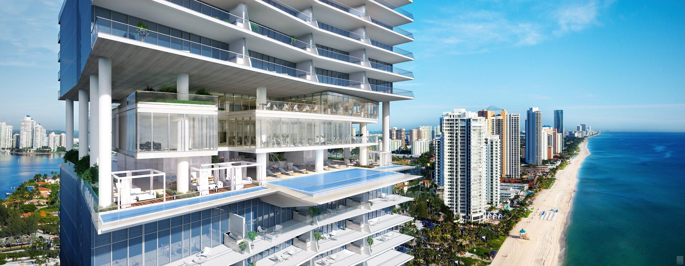 Miami Real Estate - The over-the-top luxury of the Miami condo market