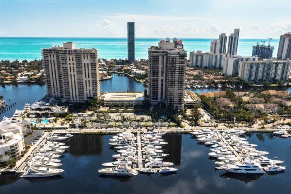 Miami Condos with a Marina