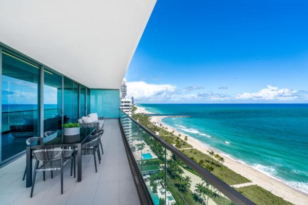 Stunning, Designer-Finished Corner Residence at Oceana Bal Harbour