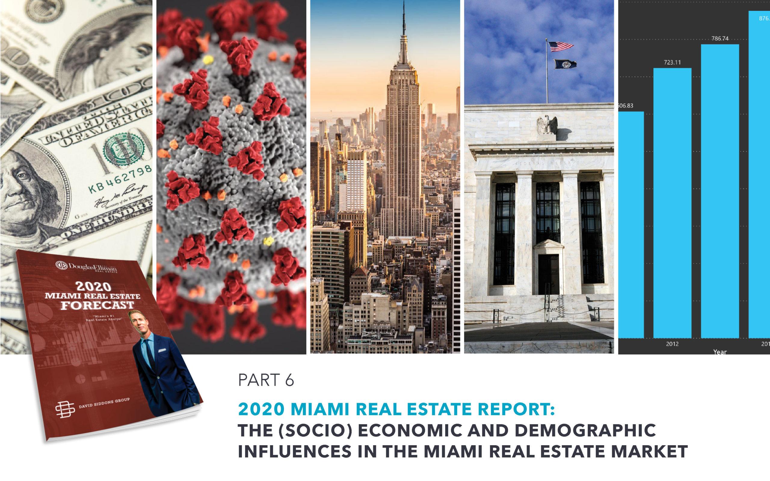 The 2020 Miami Real Estate Report: The (Socio) Economic and Demographic influences in the Market