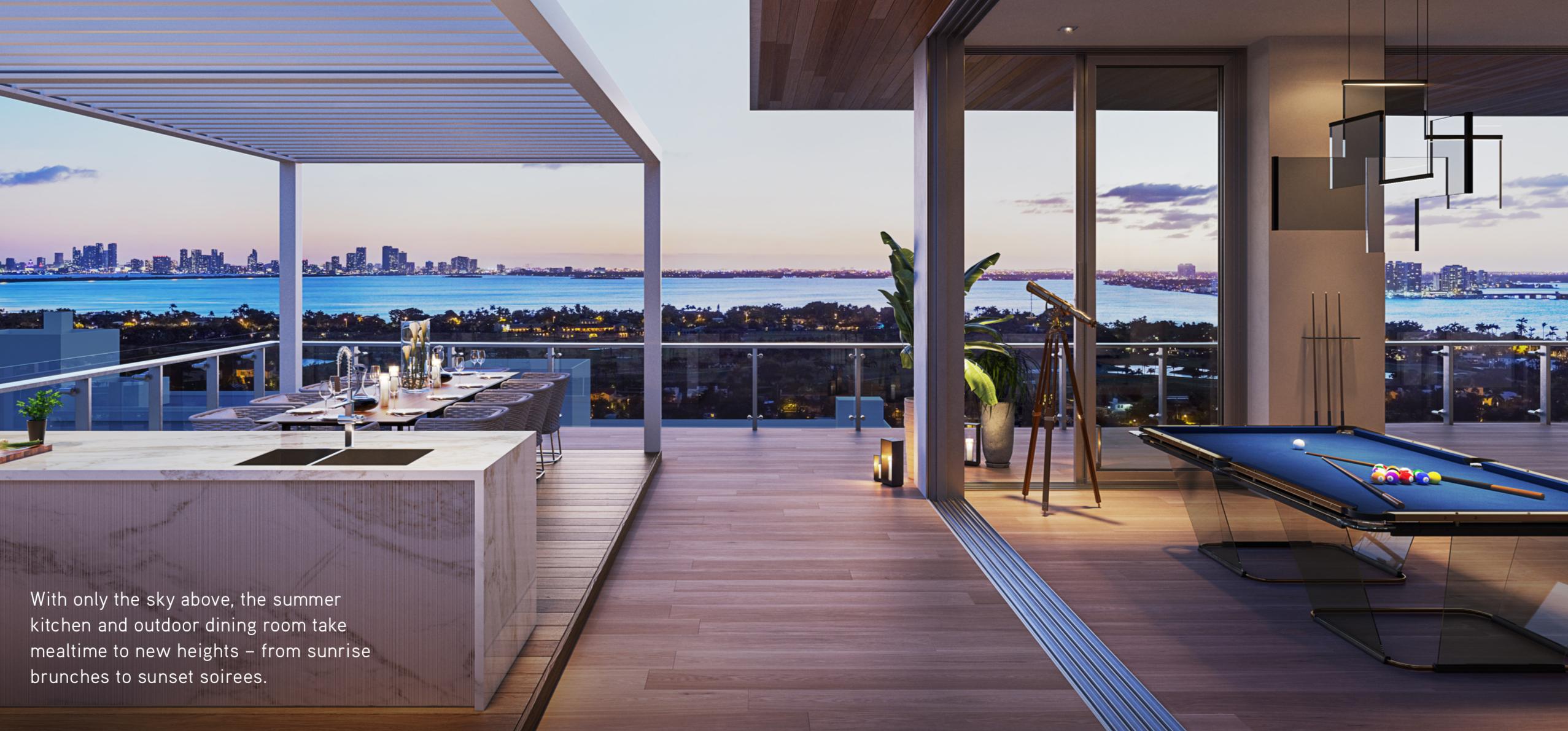 The 57 Ocean penthouse