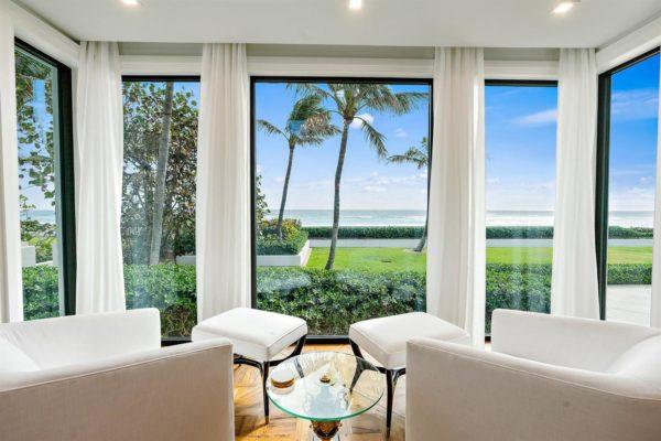 Palm Beach Beachfront homes for sale
